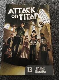Attack on Titan book