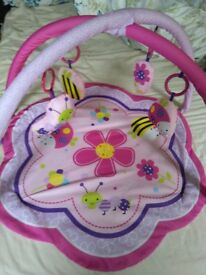 Baby girl playmat