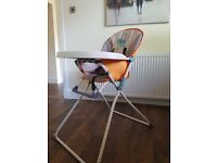 Mothercare high chair for sale
