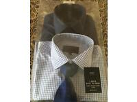 New M&S shirts and tie