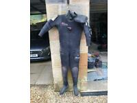 Northern diver NDiver dry suit and diving weighs