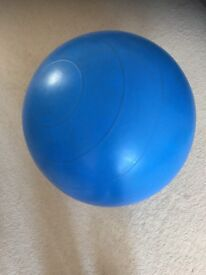 Fitness ball for exersizing, yoga