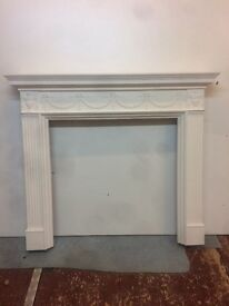 Fireplace surround decorative mantle piece