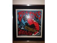 Limited Edition Framed DEFTONES Concert Poster