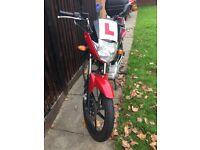 Yamaha YBR 125 low mileage £2100ono