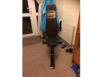 Fitness utility bench multi position- power tech -used