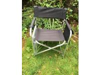 Directors style camping chair