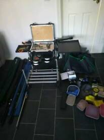 Coarse fishing set up 1