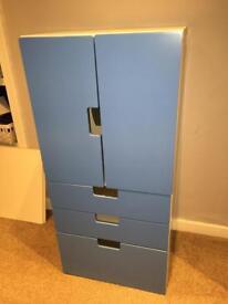 Ikea children's wardrobe and drawers