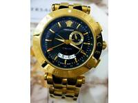 6765a21394c8 Versace GMT Alarm Watch For Men Brand New With Box