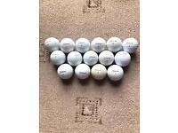 15 Titleist Pro v1 golf balls