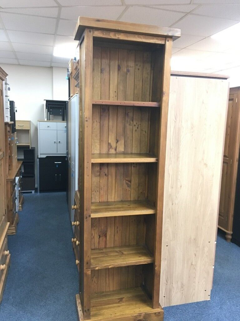 Large Solid Wood Bookcase In Loughborough Leicestershire Gumtree