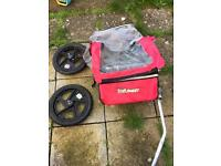 Bicycle trailer Halfords trall buggy £25