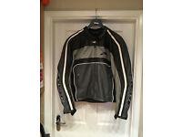 Alpinestars Dyno Motorcycle Jacket - Black/Grey/White