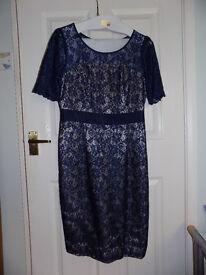 Navy Lace dress size 12