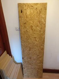 OSB board 1820mm x 530mm x 13mm £5