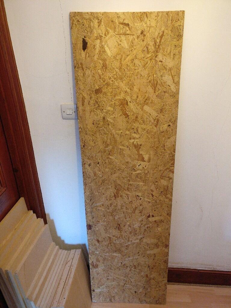 OSB board 1820mm x 530mm x 13mm £5