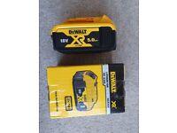 Dewalt 18V 5Ah XR battery