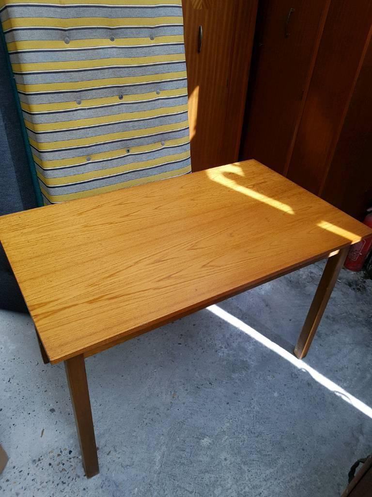 Vintage Retro Dining Table Kitchen Desk