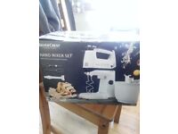 Silver Crest Hand Mixer Set with stand