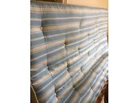 Double divan and mattress (free delivery)
