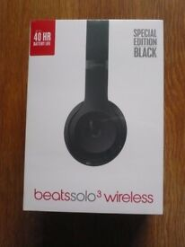 beats by dr. dre - Solo3 wireless special edition black Headphones