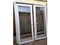French doors - White PVC