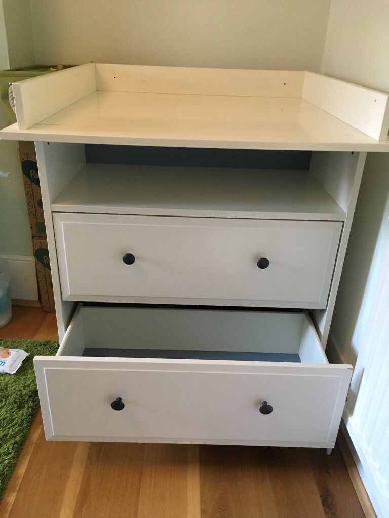 Surprising Changing Table With Drawers Ikea Hemnes In Wimbledon London Gumtree Home Interior And Landscaping Fragforummapetitesourisinfo