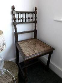 x3 Solid wood antique chairs