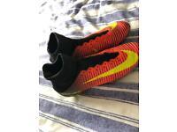 Nike mercurial sock boots