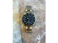 Gold Rolex Oyster Perpetual Datejust Submariner