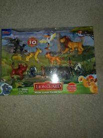 Disney Lion Gaurd figuers