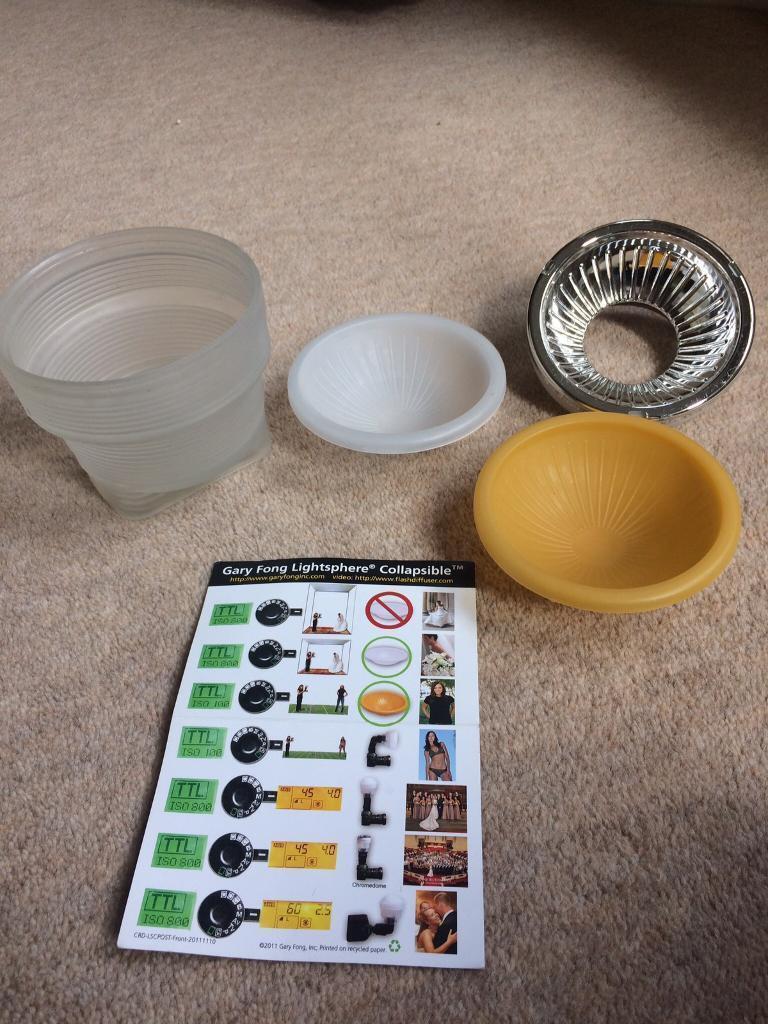 Gary Fong Lightsphere Universal Kit