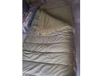 ROD HUTCINSON BED CHAIR AND SLEEPING BAG