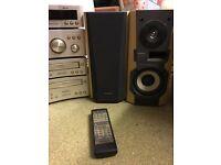Technics HiFi System + Speakers