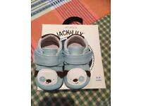 Used, JACK&LILY AS NEW MY MOCS BABY SHOES for sale  Suffolk