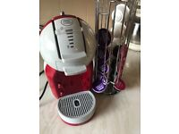 Dolce gusto coffee machine red