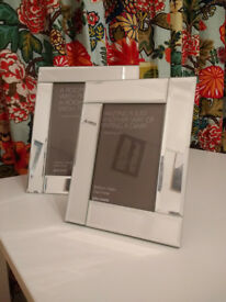 John Lewis Glass Photo Frame