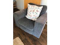 Grey Comfy armchair