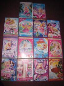 Bundle of Barbie DVDs