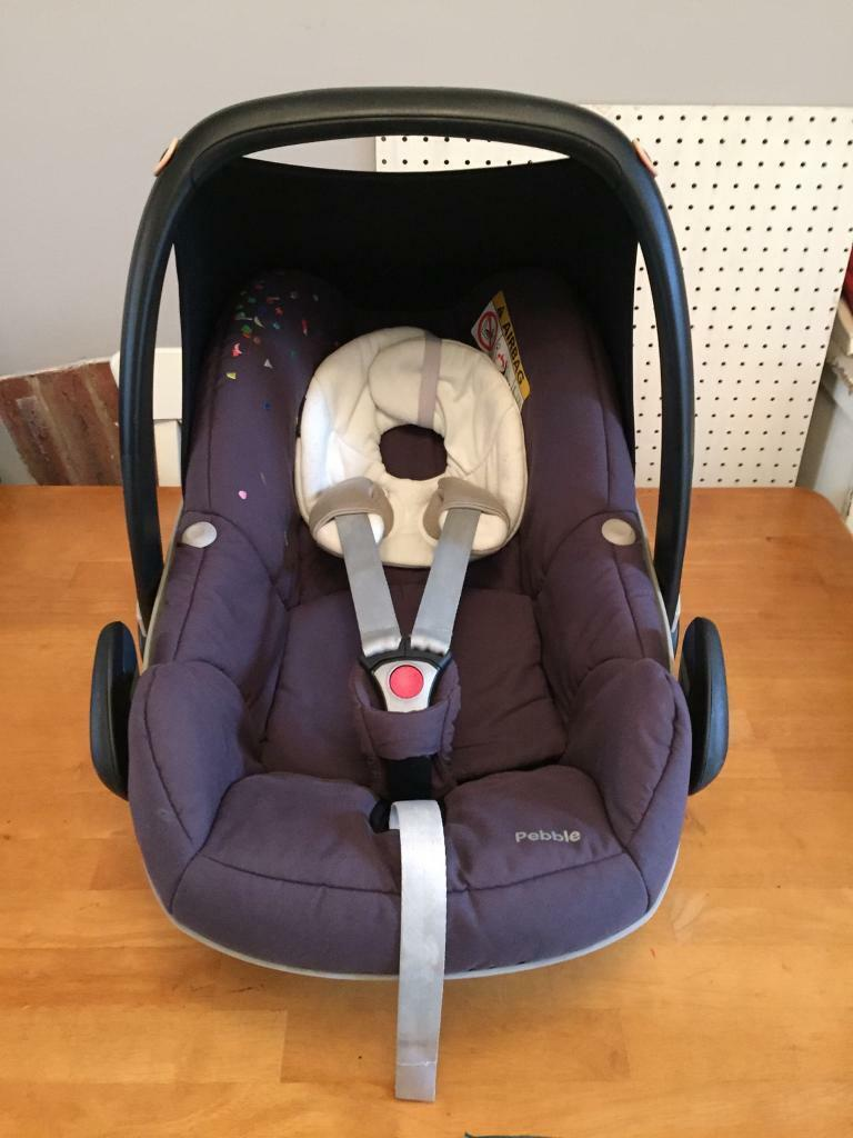 Wonderbaarlijk Maxi Cosi Pebble Car Seat in Confetti | in Fishponds, Bristol | Gumtree OP-94