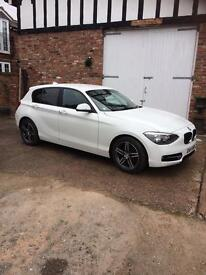 BMW 1 Series 116d Sport with Service Pack included