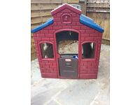 Little Tykes playhouse - with 4 playzones