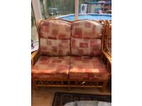 Conservatory Furniture for Sale - Cushions need some TLC