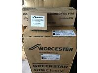 Worcester 42 cdi boiler flue and clock