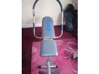 Ab shaper sit up bench