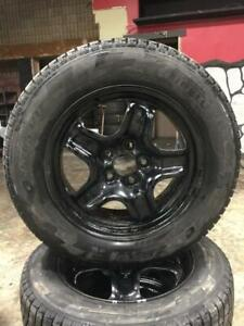 225 65R 17 PIRELLI ICE ZERO WINTER SNOW TIRES & RIMS 5X120 BOLT WORKS ON BMW CHEVROLET EQUINOX AND MORE EXCELLENT SHAPE