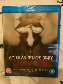 American Horror Story Season 3 Blu ray