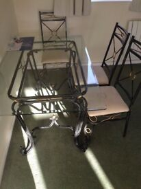 Dining Table with 6 chairs available for sale