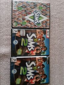 The Sims PC CD-ROM base games